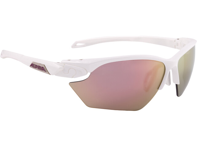 Alpina Twist Five HR S CM+ Glasses white matt